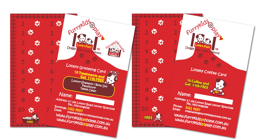 Sumico Net Graphic Design Portfolio: Loyalty Card